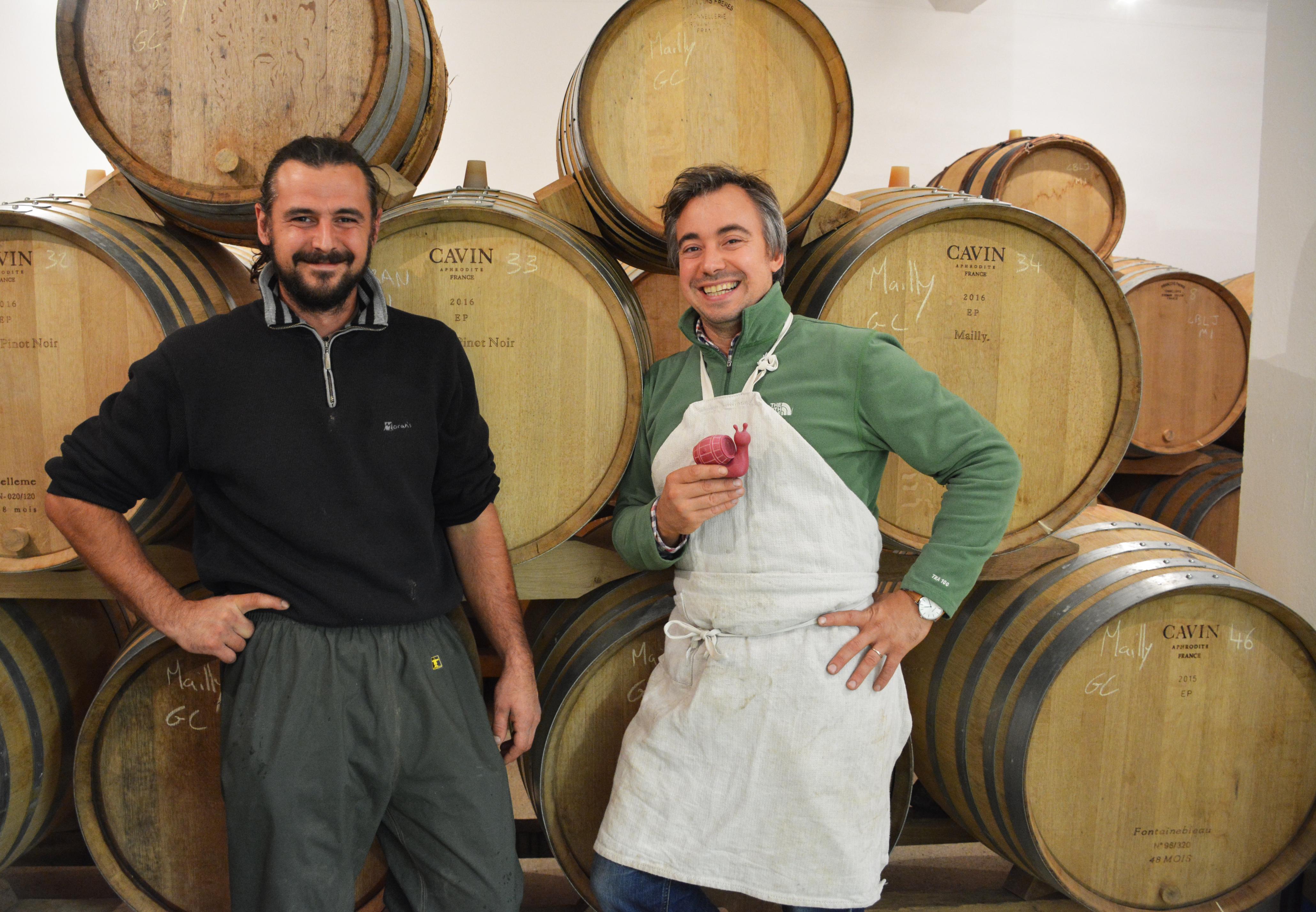 Vincent et Raphaël Bérèche